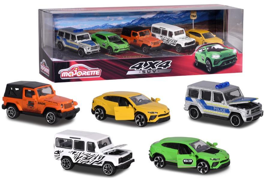 SET 5 AUTOS SUV 4X4