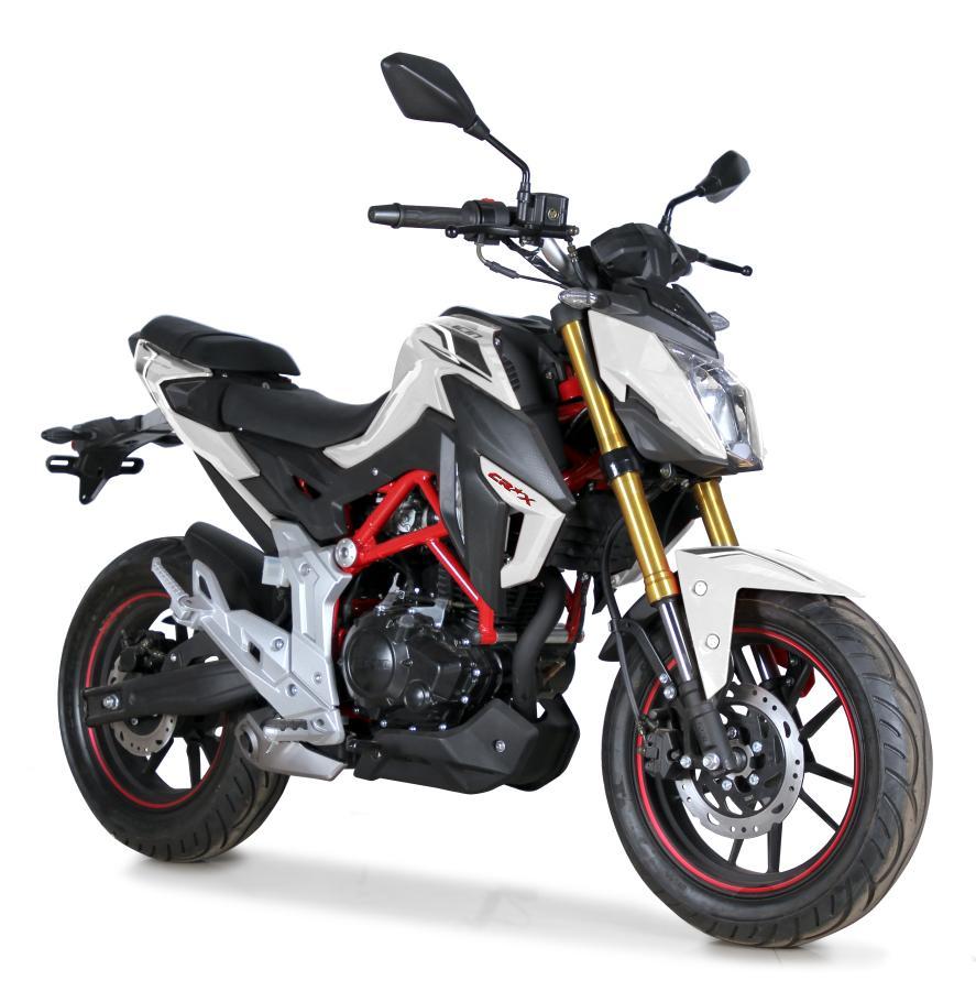 MOTOCICLETA LX180-60 BLANCA