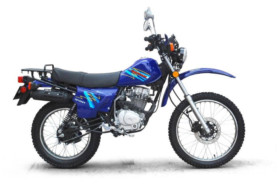 MOTOCICLETA TK150GY AZUL