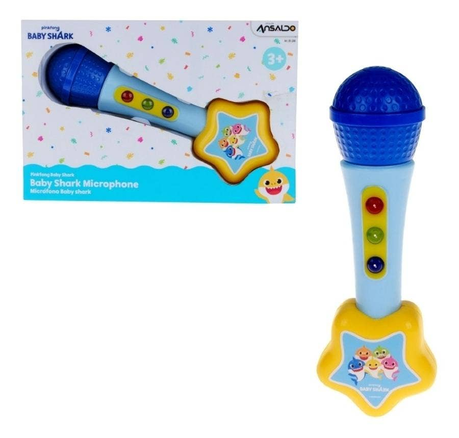 Microfono C/Musica Y Luces