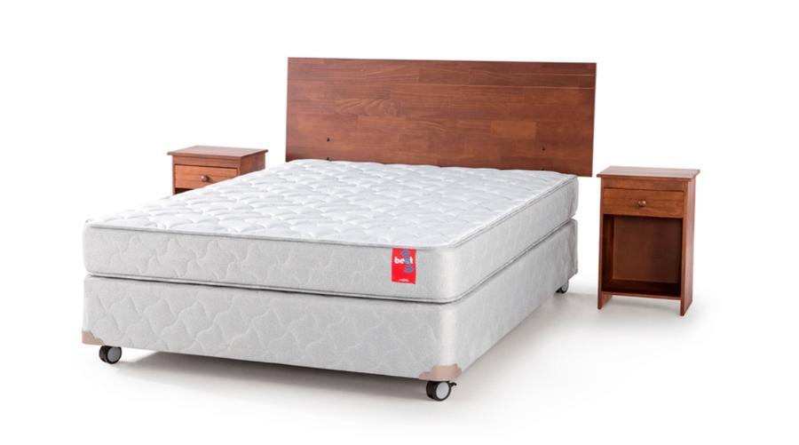BOX AMERICANO BEAT 2 PLAZAS 150 X 200 CM CON MUEBLES TABOR