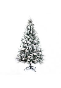 ARBOL NAVIDAD CON NIEVE 120 CM