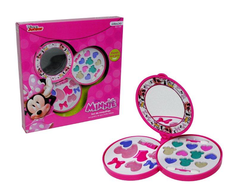 Cosmetiquero 3 Pisos Con Espejo Minnie