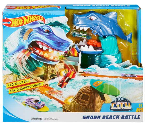 Pista Batalla En Playa Tiburón Hw