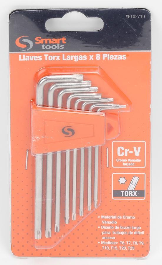 JUEGO DE LLAVES TORX DE 8 PIEZAS
