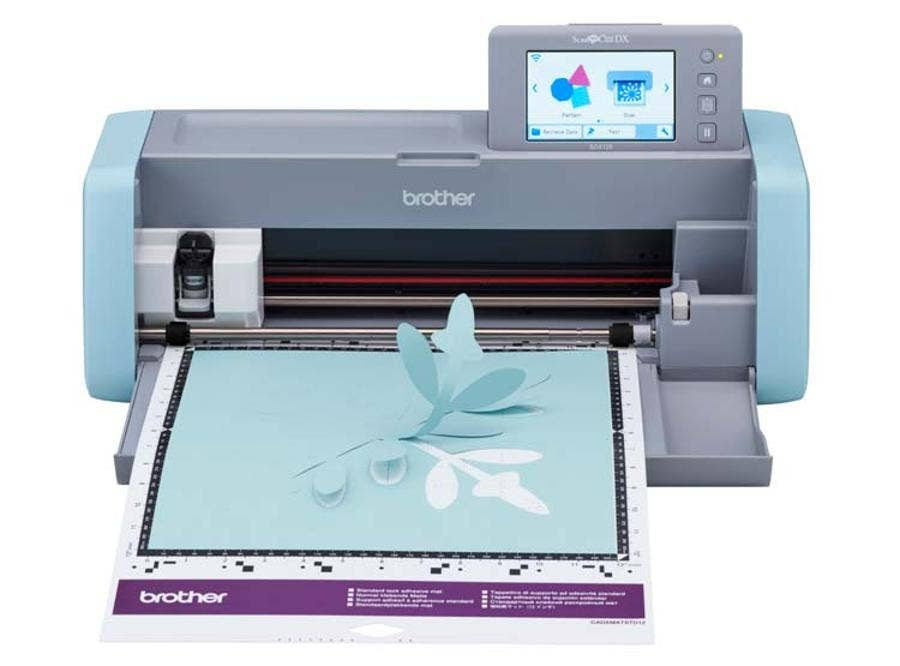 Maquina Plotter Brother Scan N Cut Sdx-125Cl