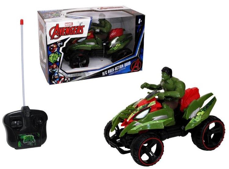 Cuadrimoto R/C Con Figura Hulk