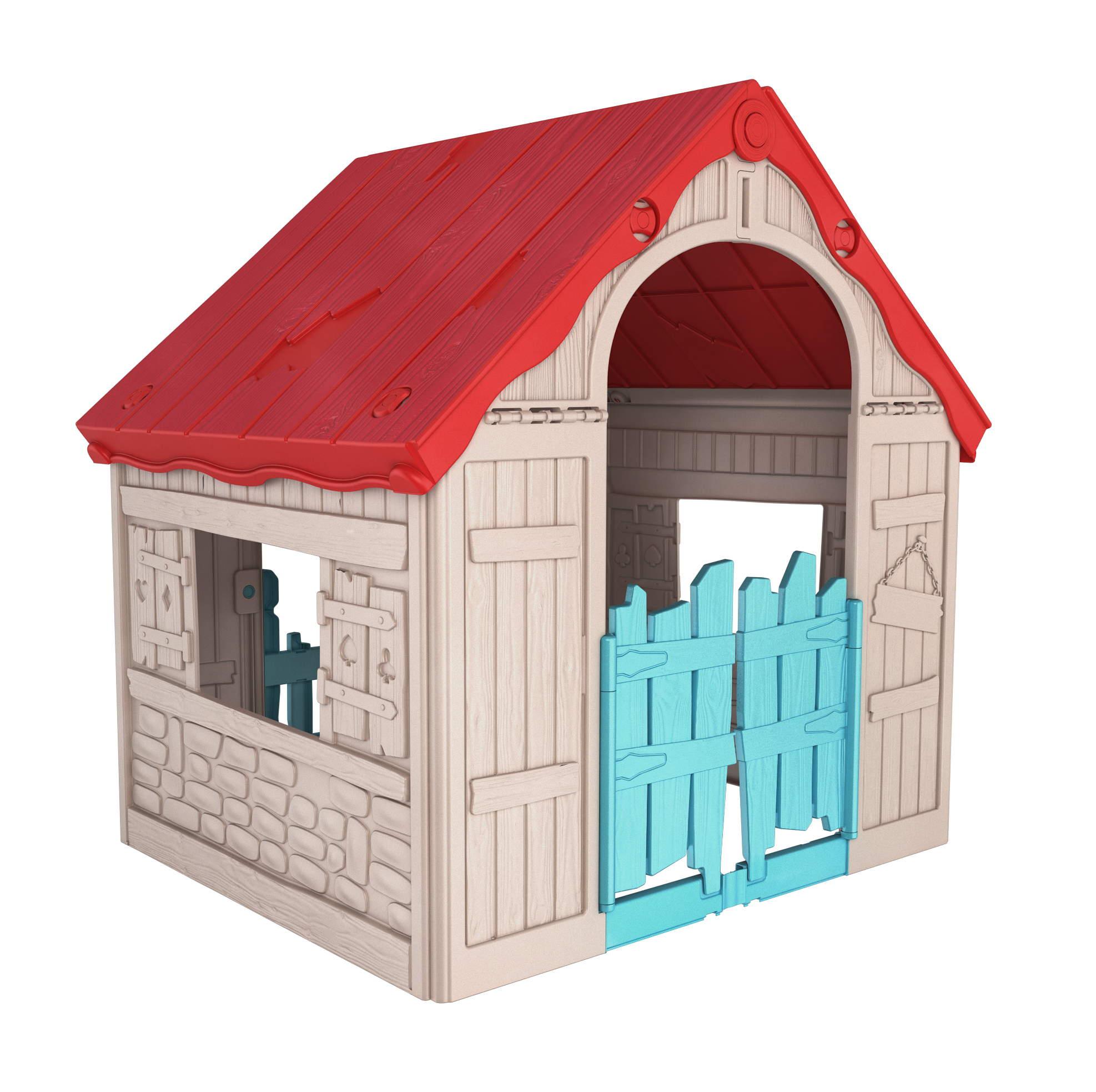 Casa De Muneca Plegable 101X89X110 Cm