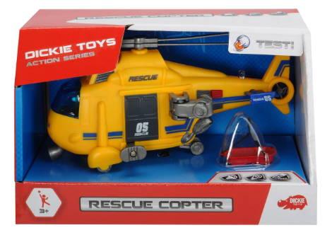 Helicoptero De Rescate 18 Cm