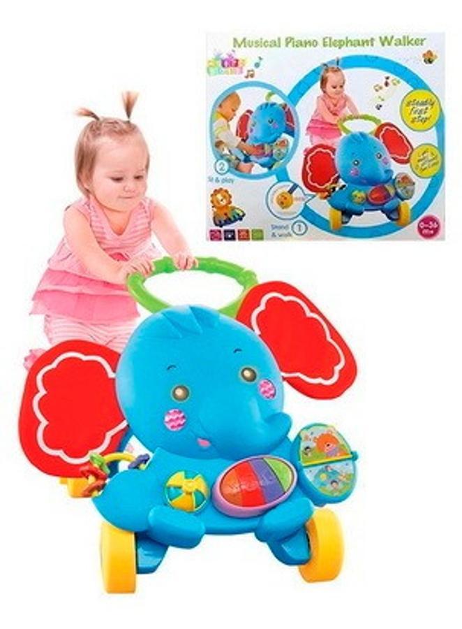 Andador Musical Bebe Elefante 46X39X11 Cm