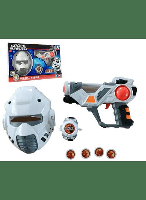 Set Pistola + Mascara