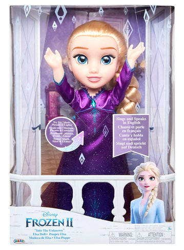 Muñeca Elsa C/Luces Y Sonido - Frozen2