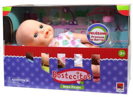 Bebe Bostecitos Pirulin C/Función