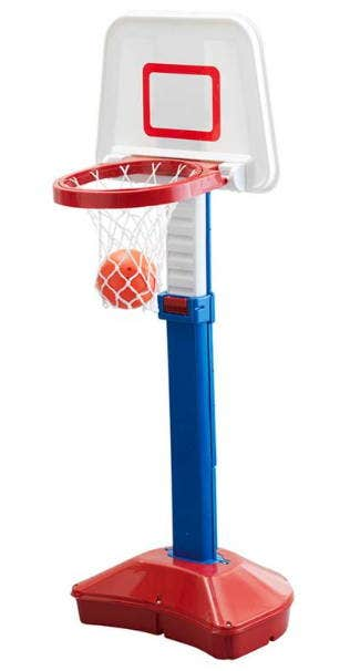 Set De Basket + Balon Altura 79 A 120 Cm