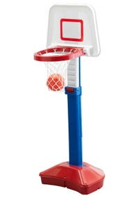 Set De Basket + Balon Altura 79 A 120 Cm