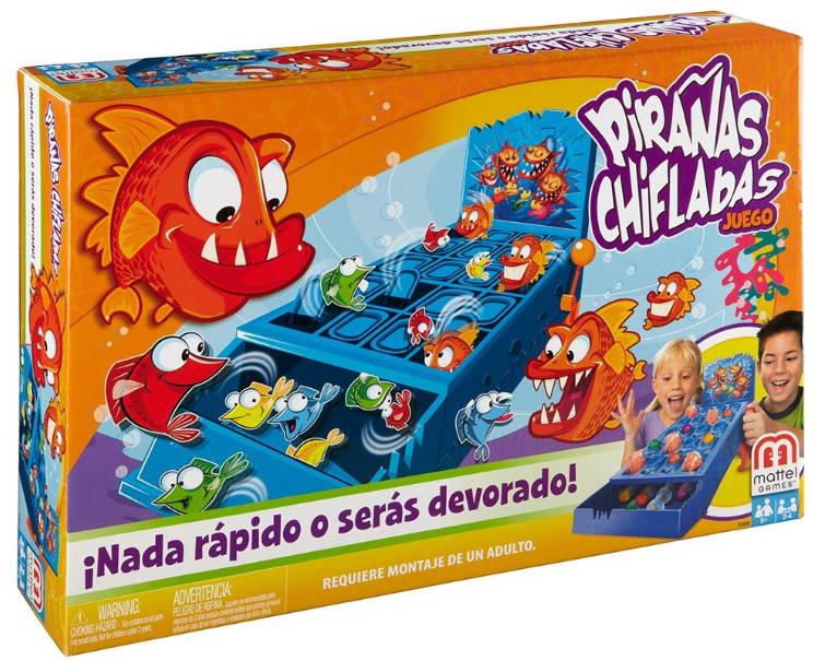 Pirañas Chifladas Game