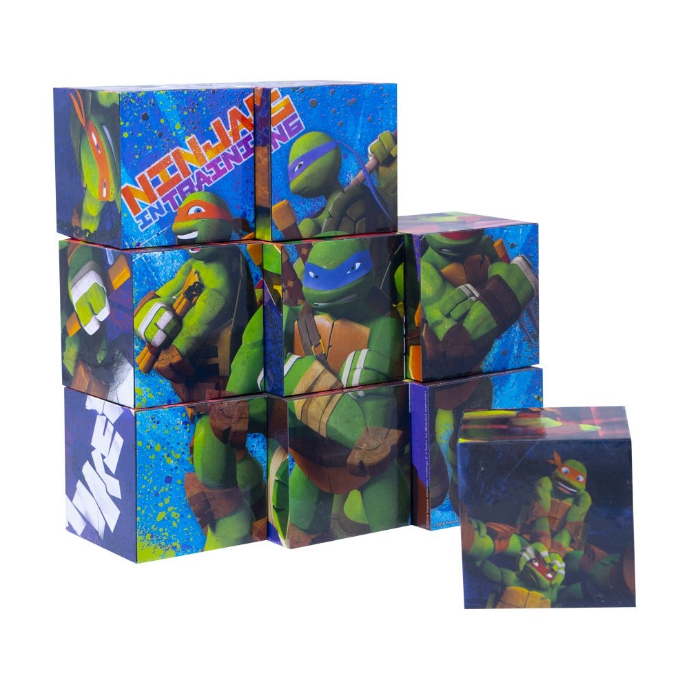 Puzzle 9 Cubos 3D Tortugas Ninja