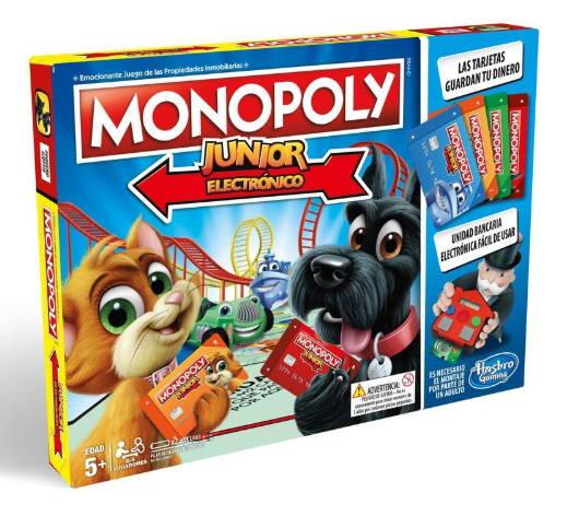 Monopoly Jr Banco Electronico