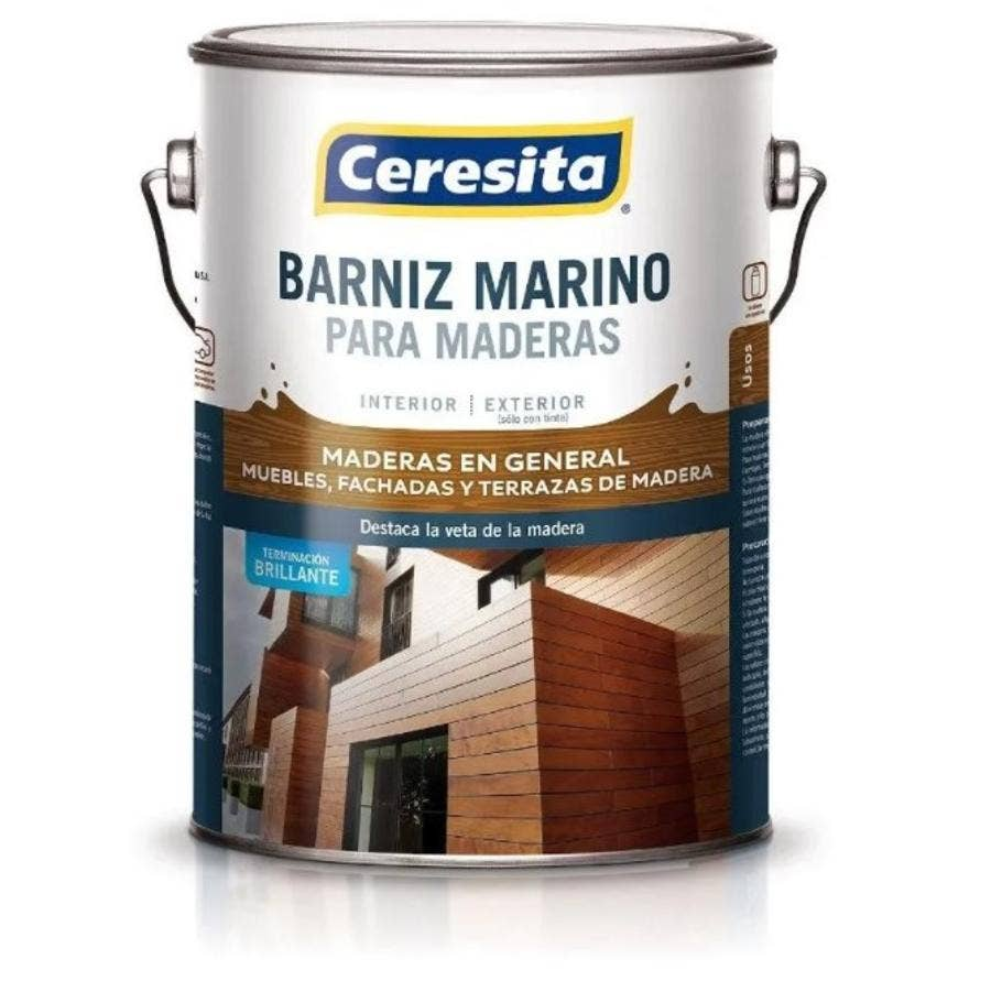 BARNIZ MARINO CON TINTE NOGAL GL