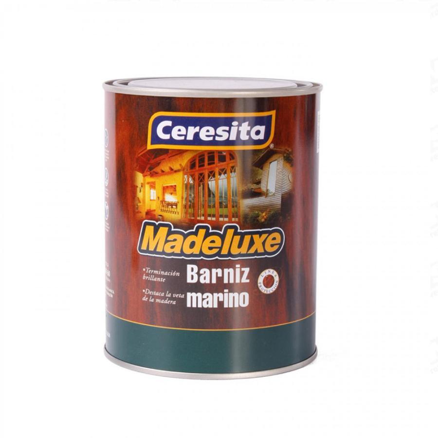 BARNIZ MARINO CON TINTE NOGAL 1/4 GL