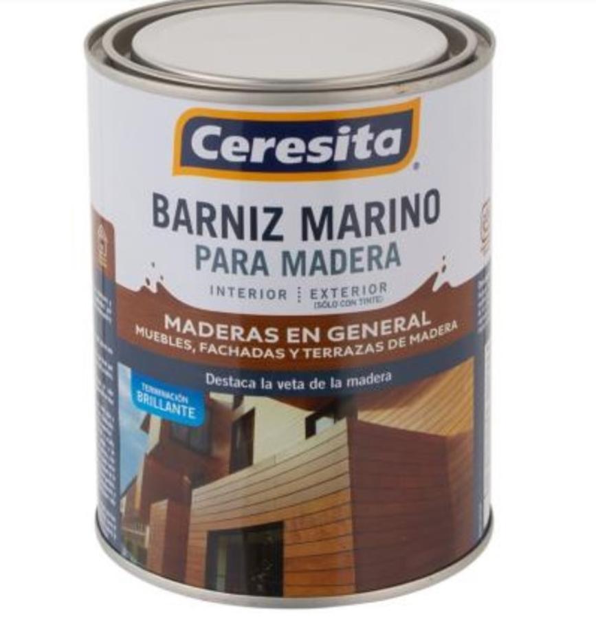 BARNIZ MARINO CON TINTE ROBLE OSCURO 1/4