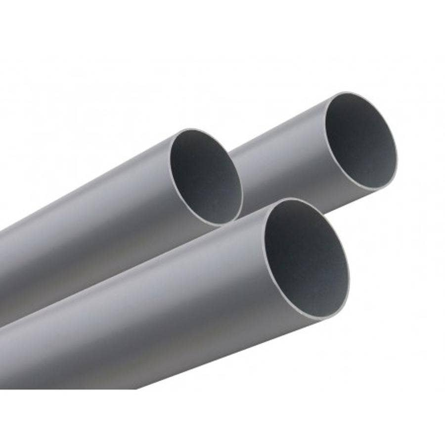 TUBO PVC SANITARIO GRIS 110 MM X 6 MT