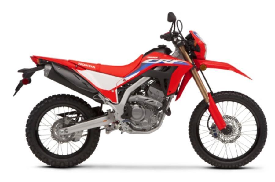 MOTOCICLETA CRF300L ROJA