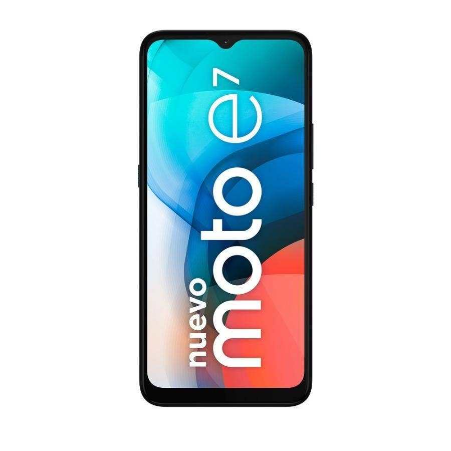 SMARTPHONE MOTOROLA E7 32 GB GRIS CLARO