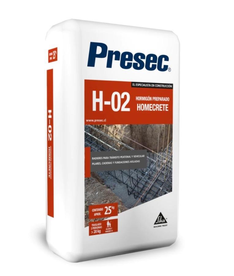 CONCRETO PREPARADO HOMECRETE H-02