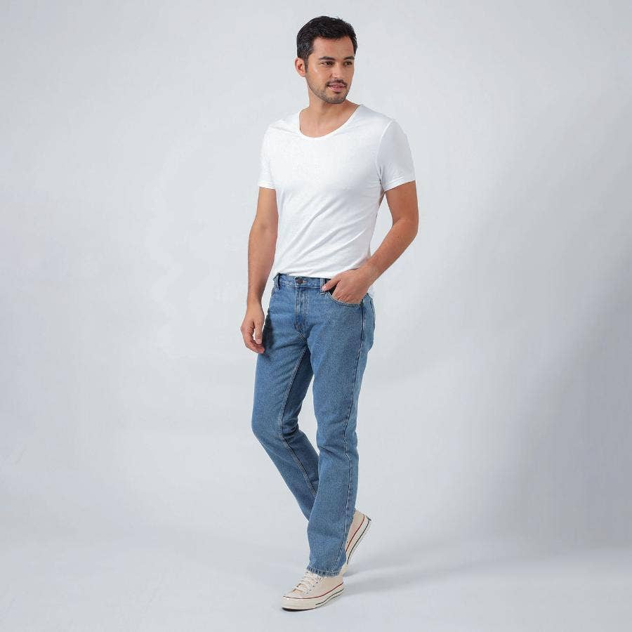 JEANS HOMBRE RIDERS REGULAR FIT BASIC 102 AZUL