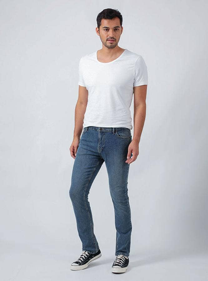 JEANS HOMBRE RIDERS 137386 AZUL