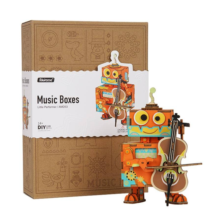PUZZLE MADERA 3D LITTLE PERFORMER - MUSICAL