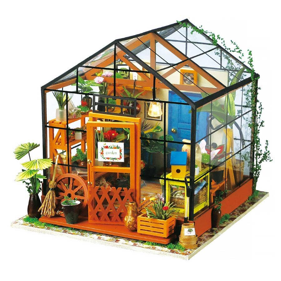 PUZZLE MADERA 3D CATHY'S FLOWER HOUSE