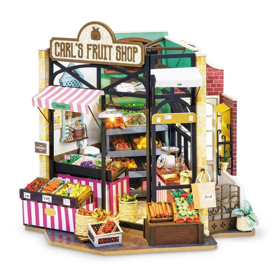 PUZZLE MADERA 3D CARL'S FRUIT SHOP