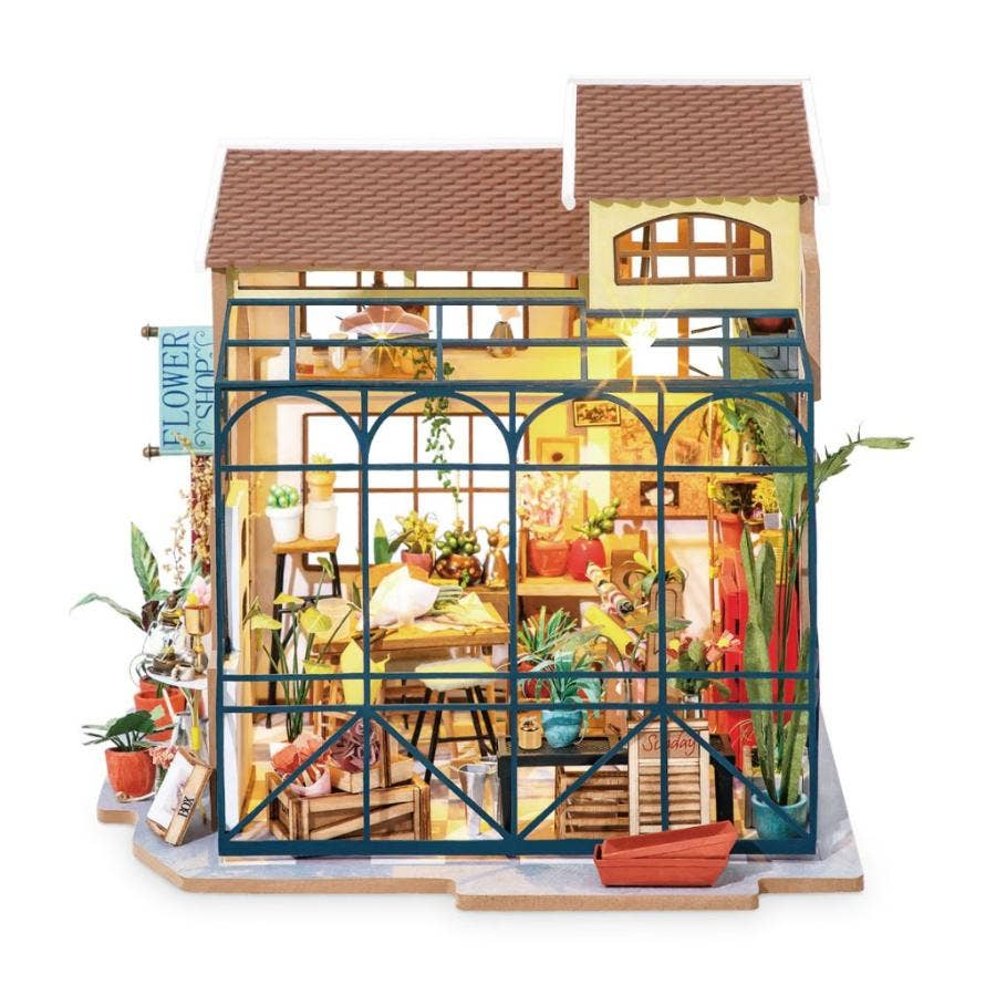PUZZLE MADERA 3D EMILY'S FLOWER SHOP