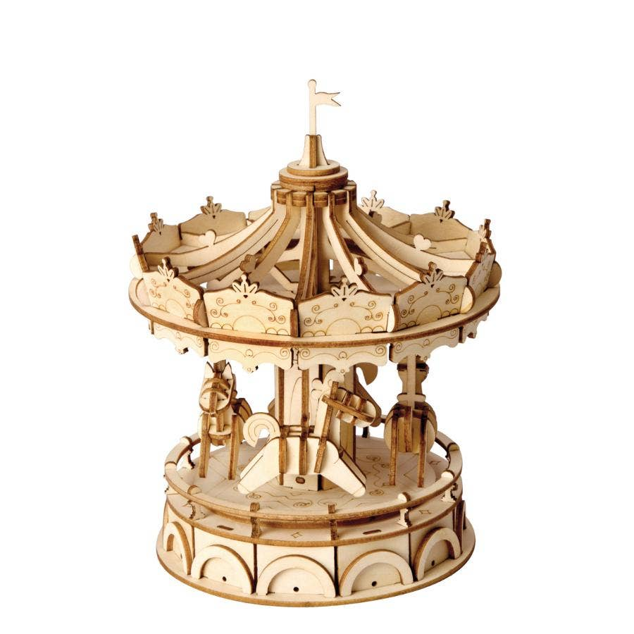 PUZZLE MADERA 3D MERRY-GO-ROUND