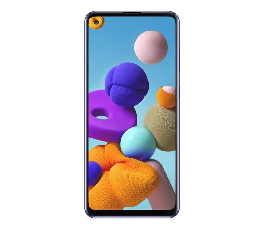 SMARTPHONE SAMSUNG A21S 128GB AZUL WOM