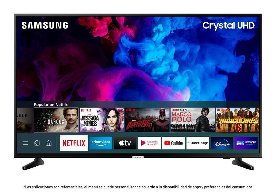 "TV LED SAMSUNG UN-43TU7090GXZS SMART TV 43"" 4K UHD"
