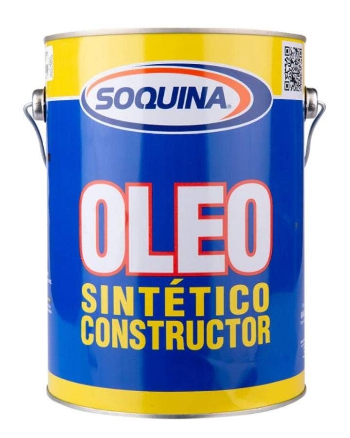 ÓLEO SINTÉTICO CONSTRUCTOR AMARILLO REY 1/4 GL