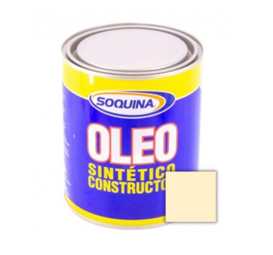 ÓLEO SINTÉTICO CONSTRUCTOR CREMA 1/4 GL