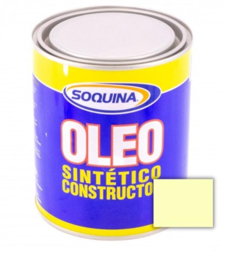 ÓLEO SINTÉTICO CONSTRUCTOR MARFIL 1/4 GL