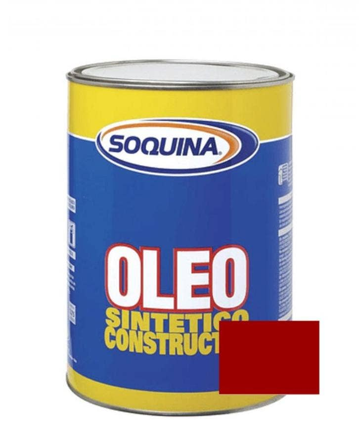 ÓLEO SINTÉTICO CONSTRUCTOR BERMELLON 1/4 GL