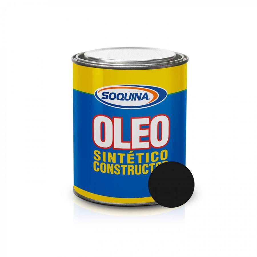 ÓLEO SINTÉTICO CONSTRUCTOR NEGRO 1/4 GL