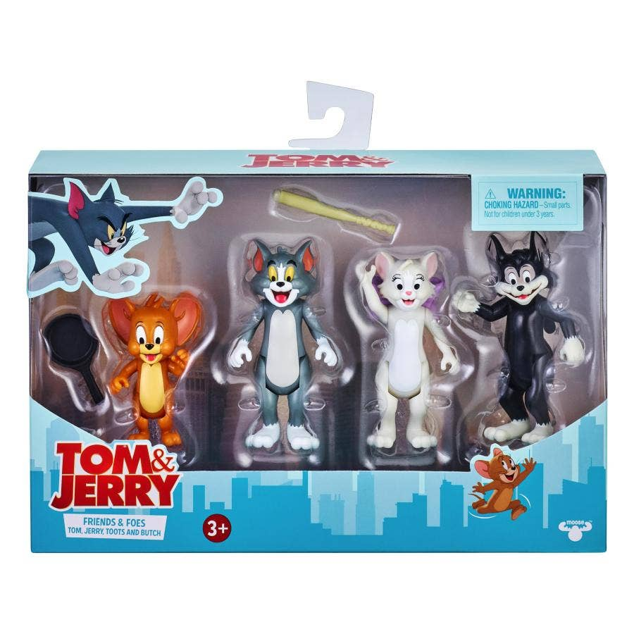 TOM & JERRY PACK DE 4 FIGURAS