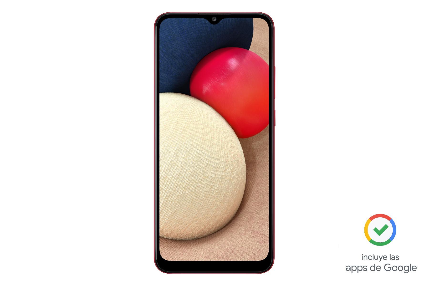 SMARTPHONE A02S ROJO 64 GB LIBERADO